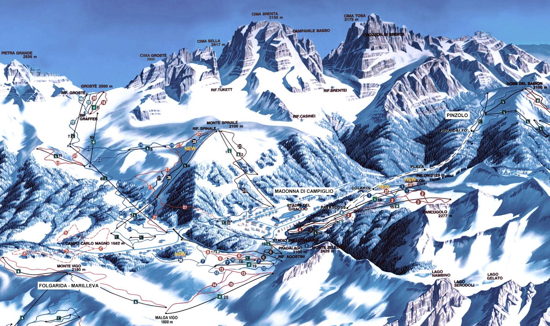 About Madonna di Campiglio Italy Ski Resort Ski2Italy